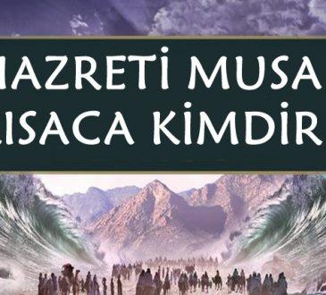 Hazreti Musa kısaca