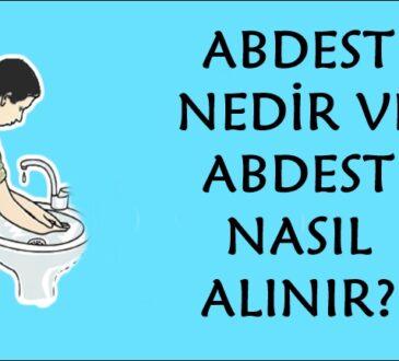 Abdest